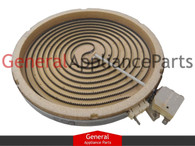 Kenmore Sears Stove Range Radiant Surface Heating Element 316224200833047