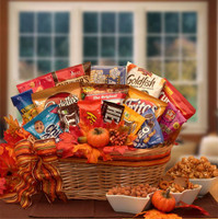 A Fall Snack Attack Gift Basket