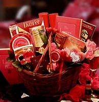 Heart To Heart Couples Romance Gift Basket