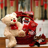 Say You'll Be Mine Valentine Gift Basket