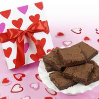 Happy Valentine's Brownie Box