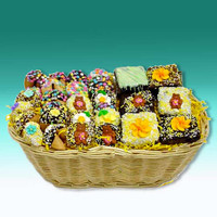 Springtime Sweets Gourmet Goodies Gift Basket