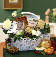 Wedding Wishes Gift Basket