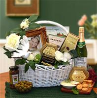 Wedding Wishes Gift Basket