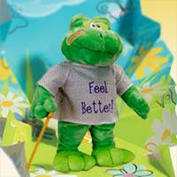 "Feel Better Hoppy the Frog ""Sings ""I'm feeling good"""