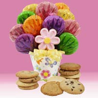 Cookies In Bloom Bouquet