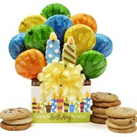 Birthday Candles Bouquet Gift Box