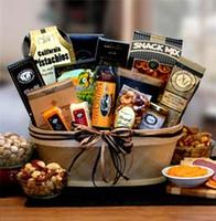 Gourmet Nut & Sausage Gift Basket