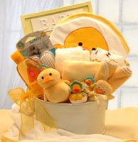 Bath Time Baby Gift Tub - Medium