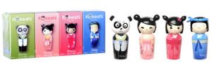 Kokeshi Miniature Perfume Set