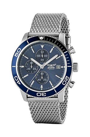 Aviator Gent's Mesh Watch