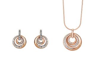 Buckley London Lunar Pendant and Earrings Set