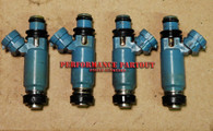 Fuel injector set 02-05 WRX