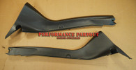 Rear seat door trim cover WRX sedan 02