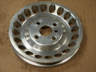 Water pump pulley - aluminum