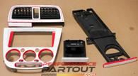 Dash vent cupholder ash tray radio bezel set WRX 02-04 painted