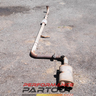 "Turbo back 3"" exhaust for 1g AWD DSM"