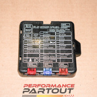 Fuse box cover interior 90-94 DSM