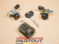 Key and lock set 1G DSM - partial