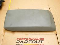 Center console arm rest lid light grey mopar 05-07