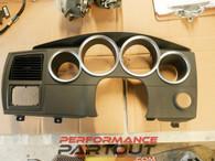 Dash gauge cluster trim cover Magnum 05-07 w chrome