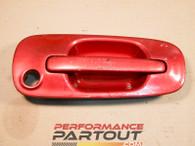 Door handle exterior Passenger Front WRX 02-07 Maroon