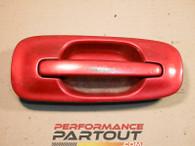 Door handle exterior Passenger Rear WRX 02-07 Maroon