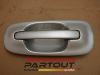 Door handle exterior Passenger Rear WRX 02-07 Silver