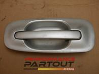 Door handle exterior Driver Rear WRX 02-07 Silver