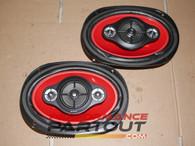 sony xs-r6941 6x9 speaker set xplode