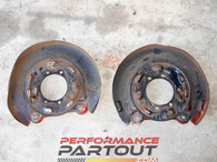 Brake shields 2G AWD DSM rear