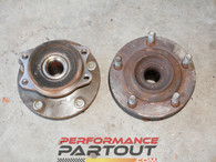 Hub set 5 lug rear 2G DSM AWD