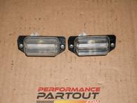 Lisc plate lights for 97-99 2G DSM