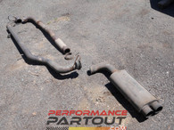 "3"" exhaust for GVR4 with Vband o2 housing"