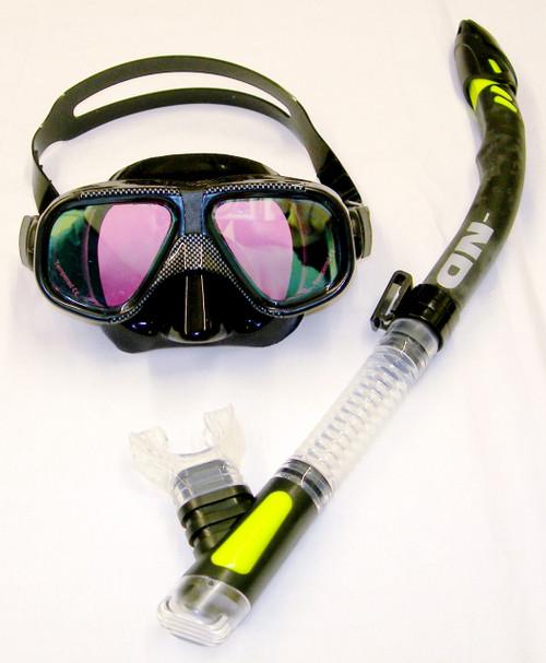 Vega Mask & Snakehead Snorkel Combo Set