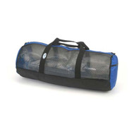 "Stahlsac Mesh Duffel Bag - 36"" with Blue Trim"