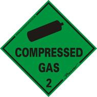 Beaver Compressed Gas Self Adhesive Vinyl Vehicle Sticker. Pack of 2