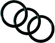 Cylinder Valve O-rings for M25 x 2 Thread. Pack of 3