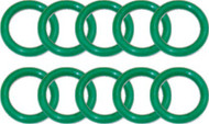 Beaver 112 Euro Type Nitrox Cylinder Valve O-rings. Pack of 10