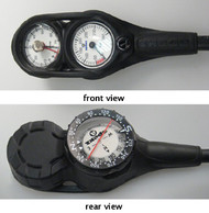 Apeks Triple Gauge Depth, Pressure And Compass. Choice of Colours