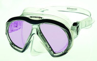 Atomic Aquatics ARC Technology Twin Lens Mask. Clear