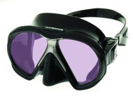 Atomic Aquatics ARC Technology Twin Lens Mask. Black.