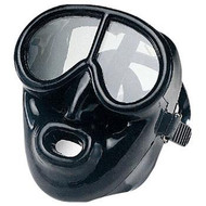 IST Sports ' Pegasus' Full Face Black Silicone Mask.