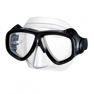 IST Sports 'Search' Dual Lens Mask with Black Cubic Pattern on Frame.