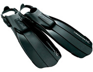 TUSA LIBERATOR X-TEN OPEN HEEL FINS - Colour & Size Choice