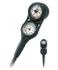 TUSA SCA-330T 3-GAUGE MINI CONSOLE - Pressure, Depth & Compass.