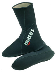 Mares Classic 3mm Neoprene Sock. Size Choice.