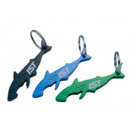 IST Shark Shaped Bottle Opener Key Ring
