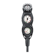 Suunto CB-Three-in-Line Dive Console. Pressure, Depth & Compass
