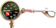 Indicator + Pressure Gauge with Attachment Clip